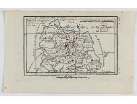 DELAPORTE, L'Abbé. -  Carte du Département du Puy de Dome.