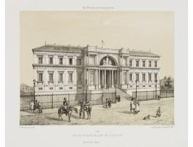 ASSELINEAU, L. A. -  Vue du Palais de Justice à Nantes.