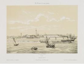 ASSELINEAU, L. A. -  Lorient. Vue de l'Entrée du Port Marchand.