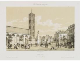 ASSELINEAU, L. A. -  Lorient. Vue de la Place Bisson.