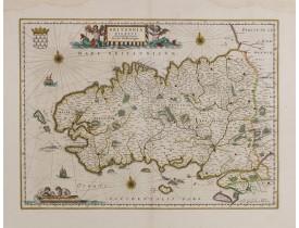 BLAEU, W. -  Britannia Ducatus / Duché de Bretaigne.