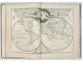 L'ISLE, G. de / BUACHE, P. / DEZAUCHE, J. A. -  Atlas géographique des quatre parties du monde.