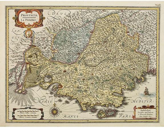 JANSSONIUS, J. -  Provincia. La Provence.
