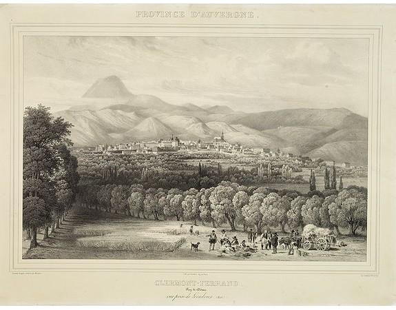 MOURTON. - Clermont-Ferrand. . . Vue prise de Loradoux (Est).