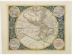 MERCATOR, G. / HONDIUS, J. - America sive India Nova.