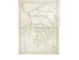 THIBAULT. - Carte des rivières et ruisseaux du bassin de la Seine.