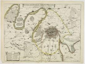 BOISSEAU, J. - Nouvelle description du territoire et Banlieuée de la ville citte et universites de Paris.