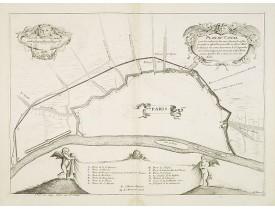 LAGNIET, Jacques. - Plan du Canal pour l'escoulement des eaus suivant la resolution prise en asemblée generalle...