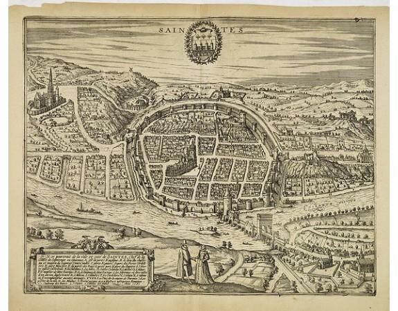 BRAUN, G. / HOGENBERG, F. - Saintes.