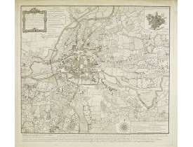 FORESTIER l'aîné. - Plan de la Ville de Rennes et de ses faubourgs.