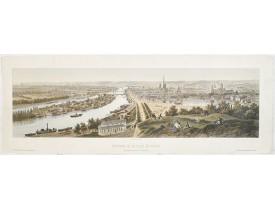 DEROY. - Panorama de la ville de Rouen Vue prise de la Côte Ste Catherine.