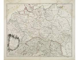 ROBERT DE VAUGONDY, G. -  Germania Antiqua. . .