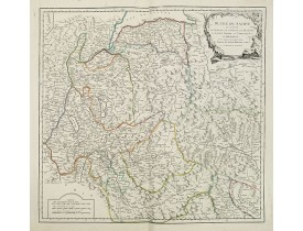 ROBERT DE VAUGONDY, G. -  Duché de Savoye. . .