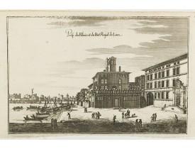 MERIAN, C. -  Prosp. du Palais du Port Roÿal de Lion.