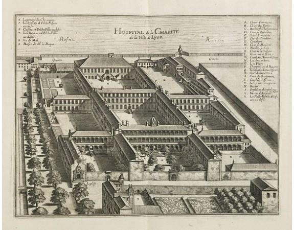 MERIAN, M. -  Hospital de la Charité. de la ville de Lyon.