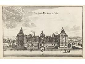 MERIAN, C. -  Chasteau de Richelieu en Poictou.