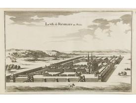 MERIAN, C. -  La Ville de Richelieu en Poictou.