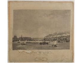GARNERAY, L. -  Vue de Rouen.