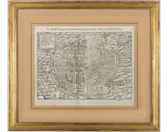 MÜNSTER, S. -  La ville de Paris, par tout tant renomée,& principalle ville du royaulme de France.