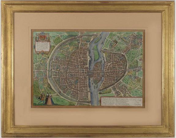 BRAUN, G. / HOGENBERG, F. -  Lutetia, vulgari nomine Paris, urbs Galliae.