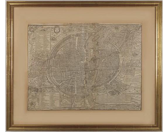 BELLEFOREST, F. de -  La ville, cité, Universite & Faux-bourgs de Paris.