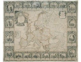 CLOUET / MONDHARE. - Carte d'Europe divisée en ses Empires et Royaumes.