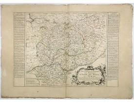NOLIN, J. B. -  Gouvernements Militaires des Provinces d'Anjou du Maine et Perche.