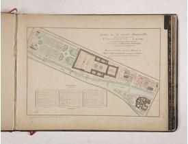 DEVRAINNE, E. -  Société de la Charité Maternelle à Paris. Plan de le ville de Paris, Divisé par Quartiers avec Nomenclature.