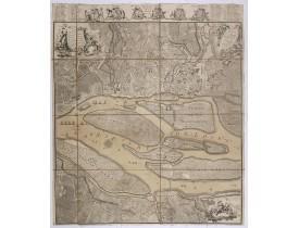 CACAULT & LE ROUGE. -  Plan de Nantes, avec les changements et augmentations qu'on y a fait depuis 1757.