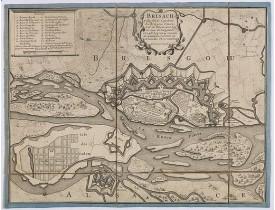 BEAURAIN, le Chevalier de -  Brisach, ville forte capitale du Brisgow.