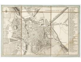 LE FRANCOIS DE LALANDE, J. -  Plan de la ville de Bourg en Bresse.
