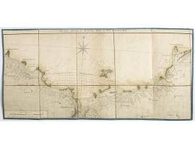 LATTRÉ, J. -  Plan de la rade de Cherbourg.