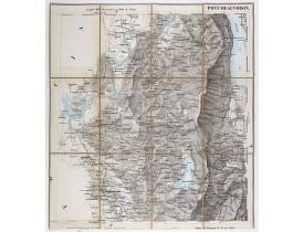 ETAT-MAJOR ITALIEN. -  Carte de Savoie. Pont-Beauvoisin.