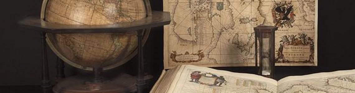 18th Paris Map, Globes, Scientific Instruments Fair