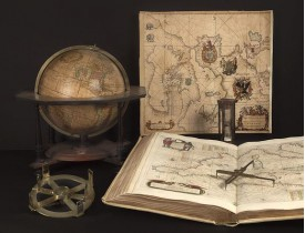 19th Paris Map, Globes, Scientific Instruments Fair 2021