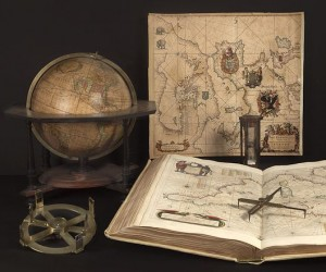19th Paris Map, Globes, Scientific Instruments Fair