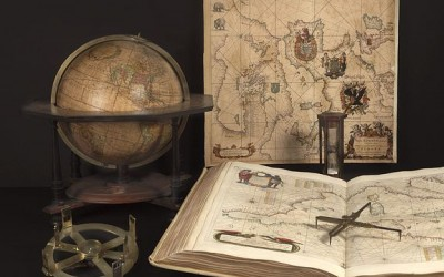 18th Paris Map, Globes, Scientific Instruments Fair